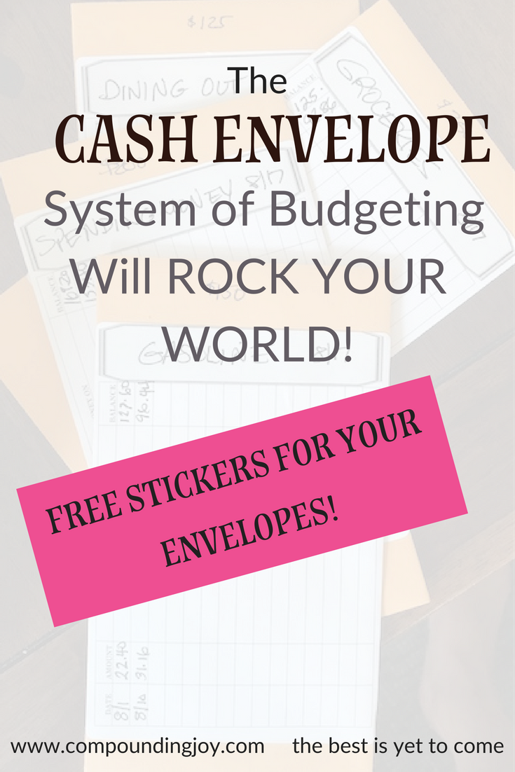 Using the Cash Envelope System to Budget Your Money | Compounding Joy