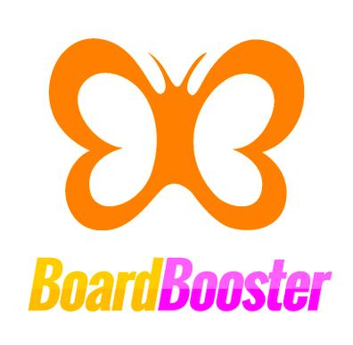 board booster logo