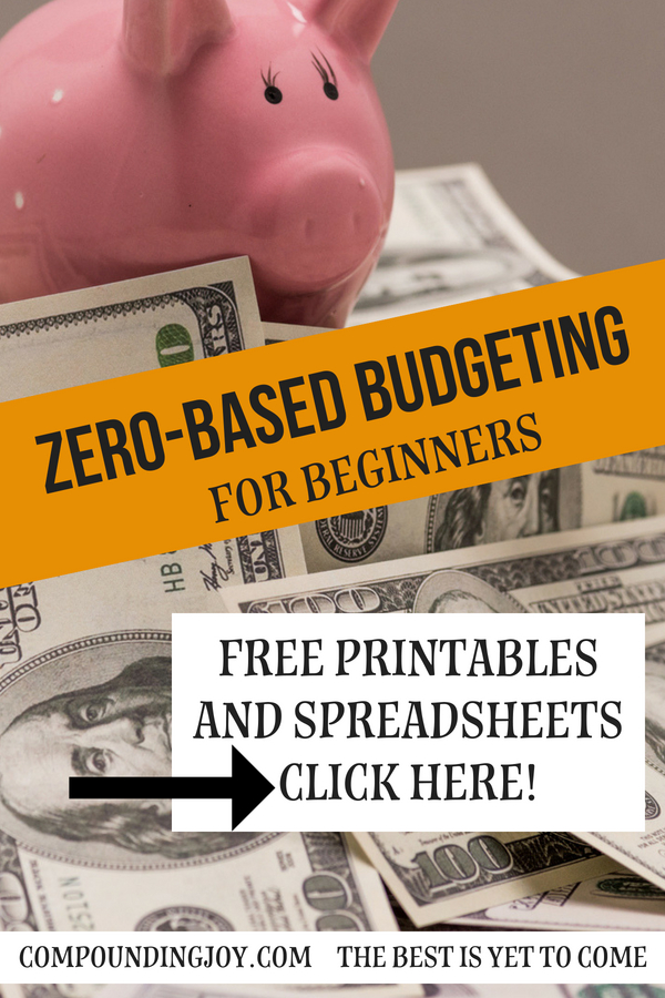zero-based budgeting | compoundingjoy.com